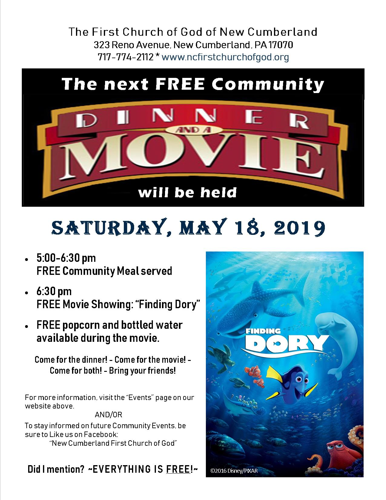 Community Dinner & Movie 2